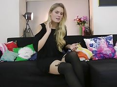 xhamster Connie wears stylish Paris...