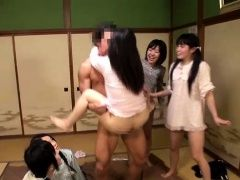xhamster Five Jav Teen Schoolgirls Fucked...