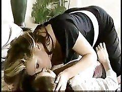Mom seducting her...
