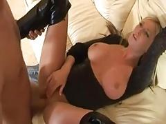 stunning british babe fucked in...