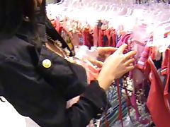 Amateur shopping sex