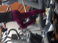 xhamster Wide ass white girl gym