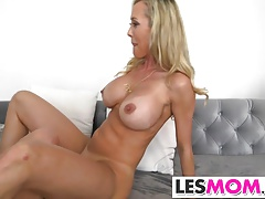 Brandi Love makes out with...