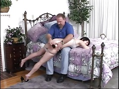 xhamster Two girls spanked by their...
