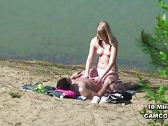 Young German Teen Couple voyeur...