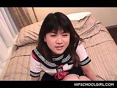 xhamster Cute jap doll in school uniform...