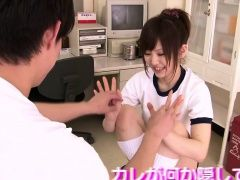 Japanese teen pussy stimulated...