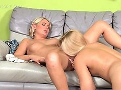 Sex doll lesbian getting her...