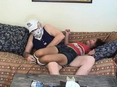 Asian teen tied up and groped by...