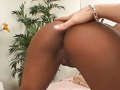 Pretty Ebony Teen Eden Creampie