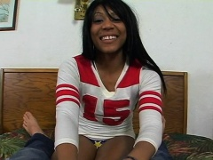 xhamster Gorgeous black hottie is showing...