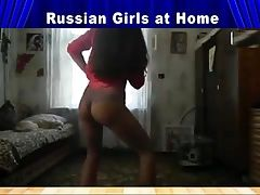 Russian girls at home