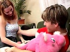 Chubby teen pussy Tanya gets her...