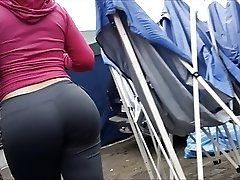Candid Booty 100