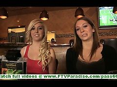 Adrianna and blonde lesbian...