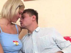 Amateur Masha gets banged by...