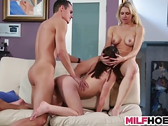 MILF Teachs Sweet Teens