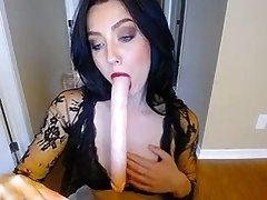 50 min of Deepthroating, Sucking...