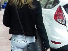 Grey Pants Booty