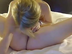 2 young white lesbians having...