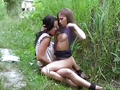 Lesbienne Sex Outdoor