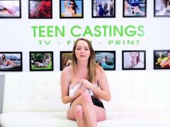 Bdsm casting teen sucks