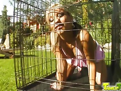 xhamster Tamed Teens Caged cutie let out...