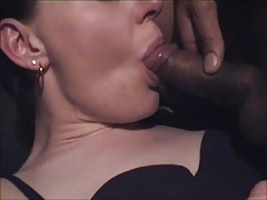 Teen Taking Cum In Mouth For The...